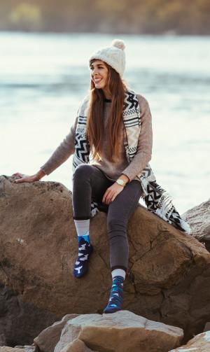 Ponožky Spox Sox - Ledovec  multikolor 44-46