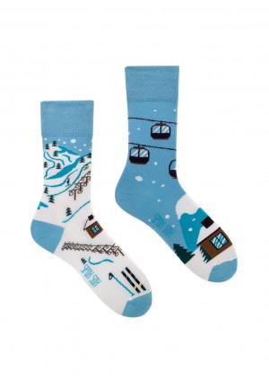 Ponožky Spox Sox - Sjezdovka  multikolor 44-46