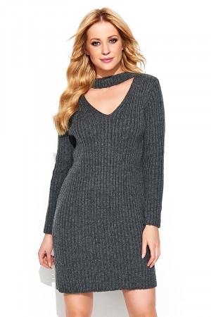 Krátké šaty  model 138126 Makadamia  UNI velikost