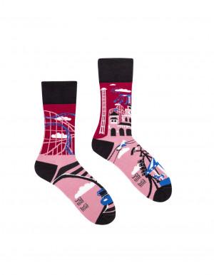 Ponožky Spox Sox - Zábavní park  multikolor 40-43