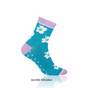 More 078 Dámské ponožky 39-42 bordová