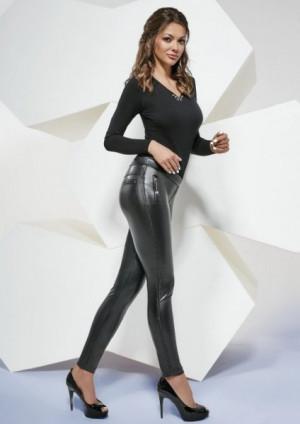 Bas Bleu Katia 200 den Dámské kalhoty, leginy 3-M black