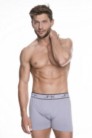 Julimex Carbon Šedé Pánské boxerky XXL šedá
