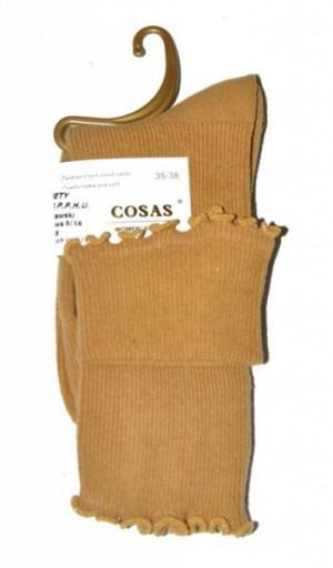 Cosas LM-6 Dámské ponožky, Pruhovaná struktura 35-38 tmavě modrá