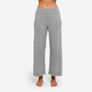 Dámské pyžamové kalhoty QS6276E-020 šedá - Calvin Klein šedá