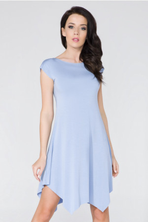 Dámské šaty T137 - Tessita  modrá 38/M