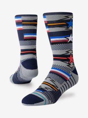 Ponožky Stance Star Search Crew Multi Barevná
