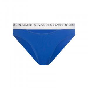 Spodní díl plavek KW0KW00658-CHQ modrobílá - Calvin Klein modro-bílá