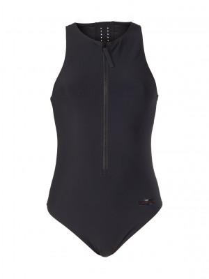 Jednodílné plavky KW0KW00811-BEH černá - Calvin Klein černá