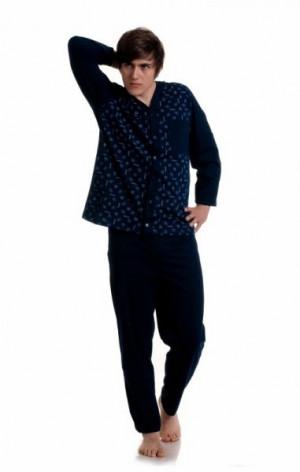 Gucio 298 plus Pánské pyžamo 3XL mix-kolor