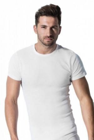 Pánské tričko Rossli MTP 001 krátký rukáv bílá XL bílá