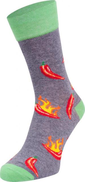 Ponožky SPOKSY SK-54 šedá 43-46