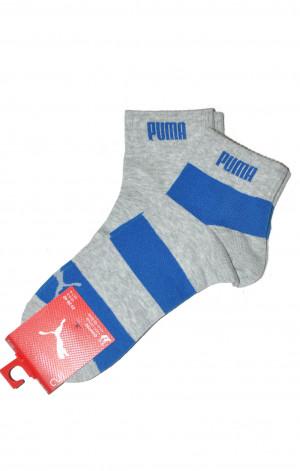 Pánské ponožky Puma 60184 Quarter A'2 grey-blue 39-42