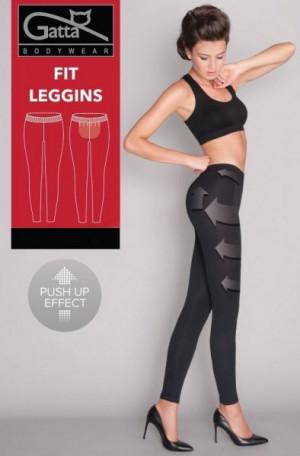 Gatta Fit Leggins 4455 S Tvarující dámské legíny S black/černá