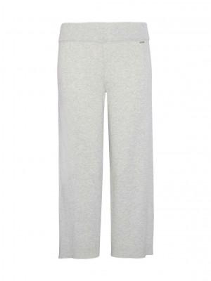 Dámské pyžamové kalhoty QS6276E-WFU béžová - Calvin Klein béžová