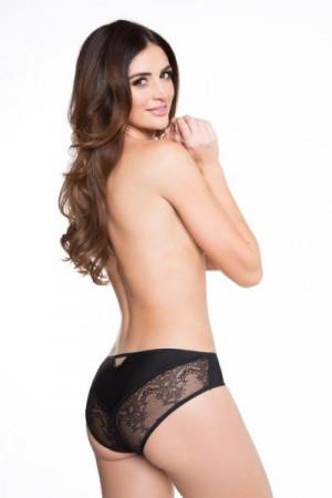 Julimex Flirty Candy Dámské kalhotky  XL béžová