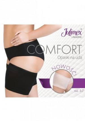 Julimex Comfort pasy na stehna 7(77-82) černá