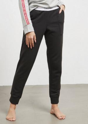 Dámské tepláky Calvin Klein QS5716 L Černá