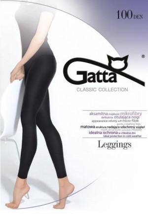 Gatta Microfibra 100 den legíny  2-S nero/černá