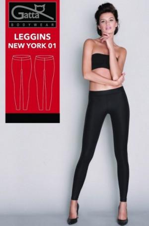 Gatta New York 01 44611 dámské legíny XL bordo