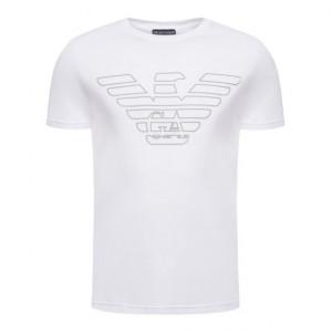 Pánské tričko 111019 9A578 00010 bílá - Emporio Armani bílá