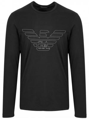 Pánské tričko 111287 9A578 00020 černá - Emporio Armani černá