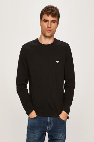 Pánské tričko 111653 9A720 00020 černá - Emporio Armani černá