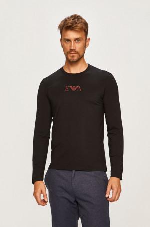 Pánské tričko 111653 9A715 00020 černá - Emporio Armani černá