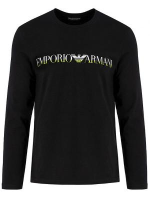 Pánské tričko 111653 9A516 00020 černá - Emporio Armani černá
