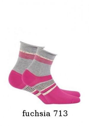 Gatta Cottoline G84.01N  dámské ponožky 36-38 ash/odstín šedé