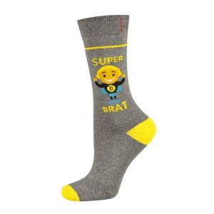Soxo příležitostný 922 Ponožky  35-40 tmavě modrá-šedá