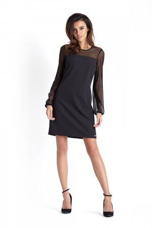 Dámské šaty Daniela 226 - IVON  černá