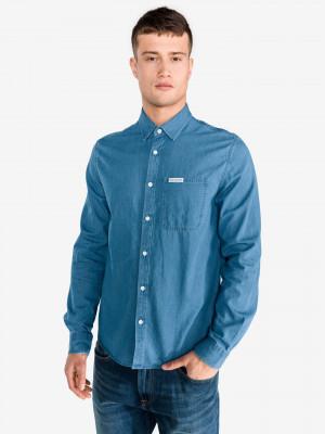 Košile Calvin Klein Modrá