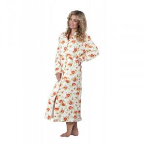 Dámský župan Rose 56491003 - Vestis ecru s květy