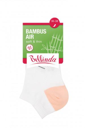 Dámské nízké ponožky BAMBUS LADIES AIR IN-SHOE SOCKS - 3 ks - BELLINDA - módní 35-38