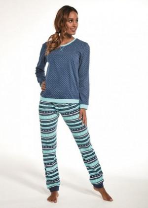 Cornette 671/57 Emily Dámské pyžamo S jeans