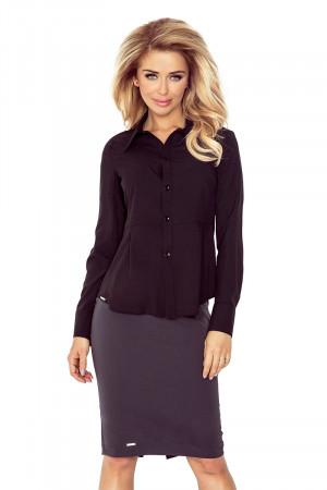 Dámská košile 016-3 černá