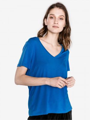 Dina Triko Vero Moda Modrá
