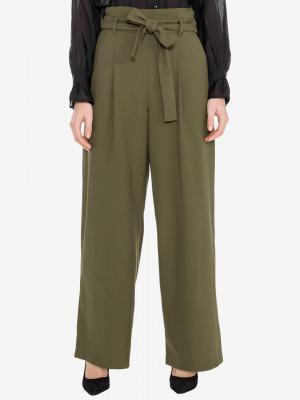 Kim Kalhoty Vero Moda Zelená
