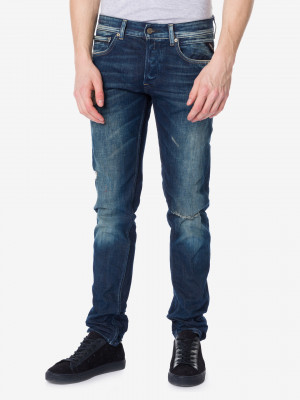 Grover Jeans Replay Modrá