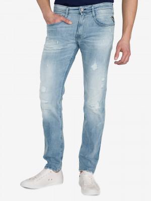 Anbass Jeans Replay Modrá