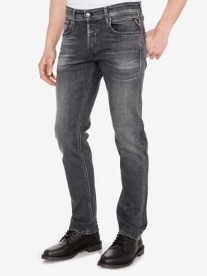 Grover Jeans Replay Šedá