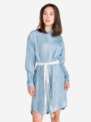 Šaty Replay Modrá