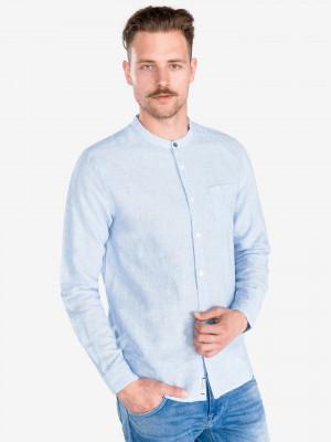 Brent Košile Pepe Jeans Modrá