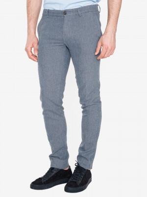 Kalhoty Trussardi Jeans Modrá