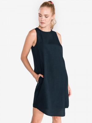 Šaty Trussardi Jeans Modrá