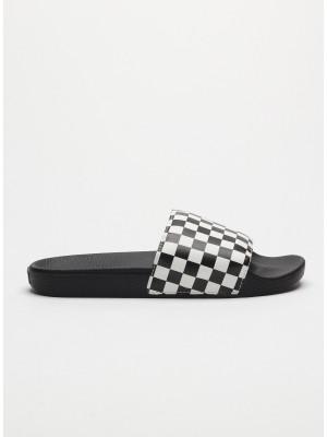 Pantofle Vans Mn Slide-On (Checkerboard) Černá