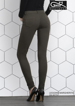 Dámské kalhoty MARGHERITA 4677S - Gatta černá