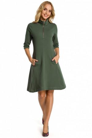 Denní šaty model 107484 khaki - Moe  khaki