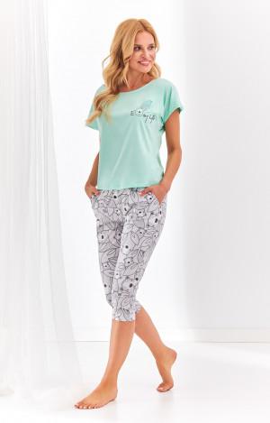 Dámské pyžamo Taro Etna 2168 kr/r S-XL 'L20 mátová